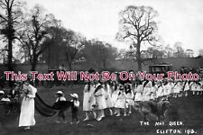 NT 230 - The May Queen - Procession, Clifton, Nottinghamshire 1915 - 6x4 Photo
