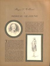 Mariage du dauphin Louis & de Marie-Antoinette Moreau le Jeune ILLUSTRATION 1926