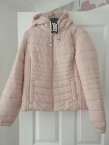 New Look Pink Coat size 12 BNWT