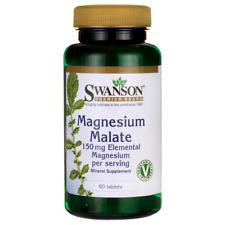 Swanson Magnesium Malate (150 mg Elemental) 1,000 mg 60 Tabs