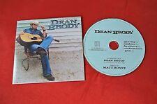 Introducing Dean Brody 4 Track 2008 Digipak Country CD