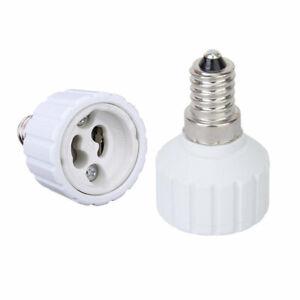 E14/E27/B22 To GU10 Base Socket Adapter Converter For LED Light Lamp Bulb