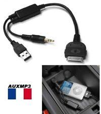 Cable adaptateur iphone ipod pour BMW et mini cooper systeme audio d'origine
