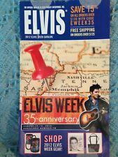 NOS ELVIS OFFICIAL 2012 ELVIS WEEK CATALOG ELVIS PRESLEY ENTERPRISES, INC.