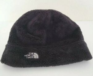 THE NORTH FACE Logo - Beanie - Fleece Stocking Hat Black - One Size - Unisex