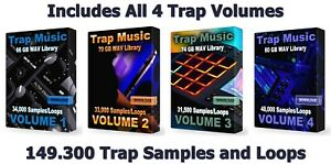 Trap Ultra Mega Pack WAV Loops Samples FL Studio Ableton Cubase Reason Logic Pro