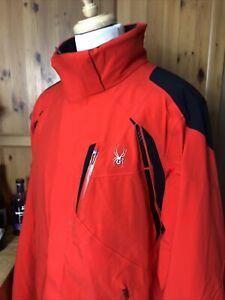 "Men's Spyder Ski Jacket XXL (approx 48"" Chest). Excellent Condition, Primoloft"