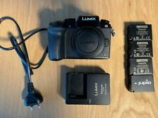 Panasonic Lumix G7 Mirrorless 4K Camera   4 Batteries GREAT CONDITION