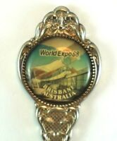 World Expo 88 Brisbane Silver Plated Souvenir Spoon Marked Made in Australia