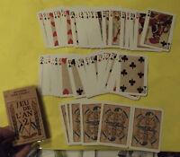 Ancien jeu de 54 cartes  Jeu de l'an 2