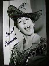 Carol Burnett SHOW Authentic Hand Signed Autograph 4X6 photo - COMIC LEGEND