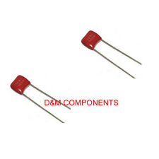 100nF 100V Polyester Film Capacitors, Pack of: 5, 10, 20 or 50