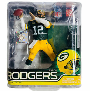 Aaron Rodgers Figure NFL Football Green Bay Packers McFarlane Action Toys