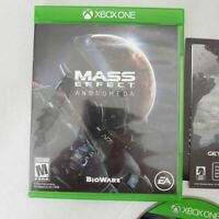 EA Games XBOX ONE Mass Effect Andromeda Rated M Action Video Game Complete