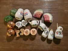 Vintage salt and pepper shakers lot of 10 pair