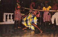 Postcard Dancing The Limbo Jamaica BMI Posted 1965