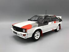 Audi Quattro 1982  weiss Rally Spec - 1:18 IXO  *NEW*