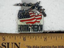 ENDURING FREEDOM PIN