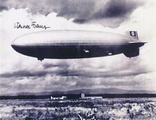 Werner Franz- Signed Hindenburg Photograph