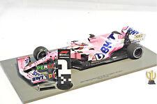1:18 Spark 18S564 BWT RP20 winner Sakhir GP 2020 Sergio Perez #11 with pit board