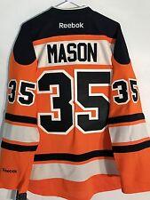 Reebok Premier NHL Jersey Philadelphia Flyers Steve Mason Orange Alt sz M