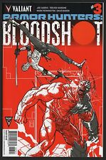 Armor Hunters Bloodshot #3 Riley Rossmo 1:20 Variant VALIANT COMICS 2014