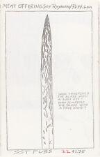 Raymond PETTIBON / Meat Offerings First Edition 1986