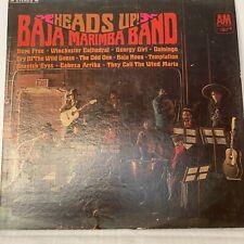 Heads Up, Baja Marimba Band- A&M SP4123