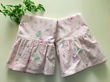 NEW Set2 KiNG PILLOWCASES made w/RACHEL ASHWELL Simply Shabby Chic Antique Rose