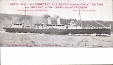 Portpatrick & Wigtownshire Railway Official. Steamer Princess Maud by Carswell.