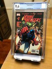 Young Avengers #1 2005 CGC 9.6 1st Kate Bishop Hulkling Patriot Disney+ MCU KEY!