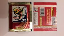 "1 X PACKET PANINI WORLD CUP ""GOLD VERSION"" - SOUTH AFRICA 2010 - MADE IN ITALY"
