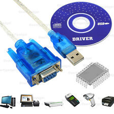 USB a puerto serie RS232 9 Pin Cable Convertidor Adaptador Hembra DB9 CH340 Windows