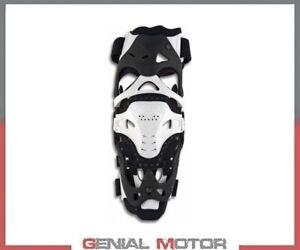 Motocross Knee Brace UFO PLAST Morpho Fit Left Side White L/XL