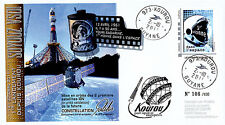 "VS01L FDC KOUROU ""SOYUZ Rocket Flight 1 / Constellation GALILEO / GAGARIN"" 2011"