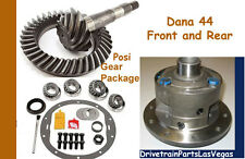 Premium Dana 44 Helical Posi Package Ring Pinion Master Rebuild Kit Jeep 4.56