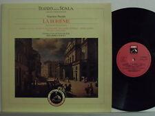 MARIA CALLAS ANNA MOFFO LP La Boheme MADE ITALY Teatro alla Scala bicentenario