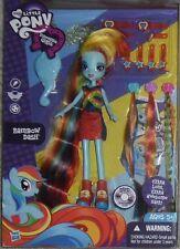 MY LITTLE PONY RAINBOW DASH EQUESTRIA GIRLS DOLL NEW! EXTRA LONG HAIR