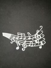 "TATTERED LACE MUSIC DIE CUT TOPPERS ~ /""JAZZ SAXOPHONE/"""