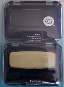 2 COVERGIRL EYE SHADOW ENHANCERS SPRING MIST OR SHIMMERING ONYX FREE SHIPPING US