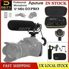 UK Ship DEITY V-Mic D3 Pro Broadcast Super-Cardioid Shotgun Microphone For DSLR
