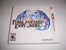 Original Box Case Replacement for Nintendo 3DS Final Fantasy Explorers