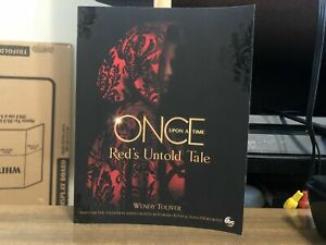Once Upon a Time Red's Untold Tale by Wendy Toliver (English) Paperback Book