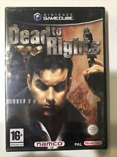 NINTENDO GAMECUBE - DEAD TO RIGHTS - NEW + SEALED - FREE UK POST