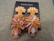 Baublebar Amazon Lizard orange pierced earring NWT