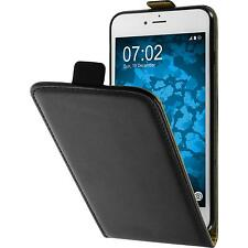 Artificial Leather Case for Apple iPhone 7 Plus / 8 Plus Flip-Case black