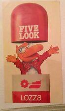 Sticker Adesivo Anni ' 80 Televisione Canale 5 - Lozza Occhiali