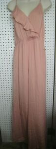 New Victoria Secret Pink Jumpsuit - Sleeveless Crossover Front Size L