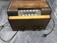 New ListingVintage Wooded Emerson Radio and Phonograph Corporation Model 512