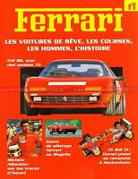 FERRARI 512 BB F1 412 T1 612 Can-Am Michele ALBORETO Arturo MERZARIO Fascicule 8